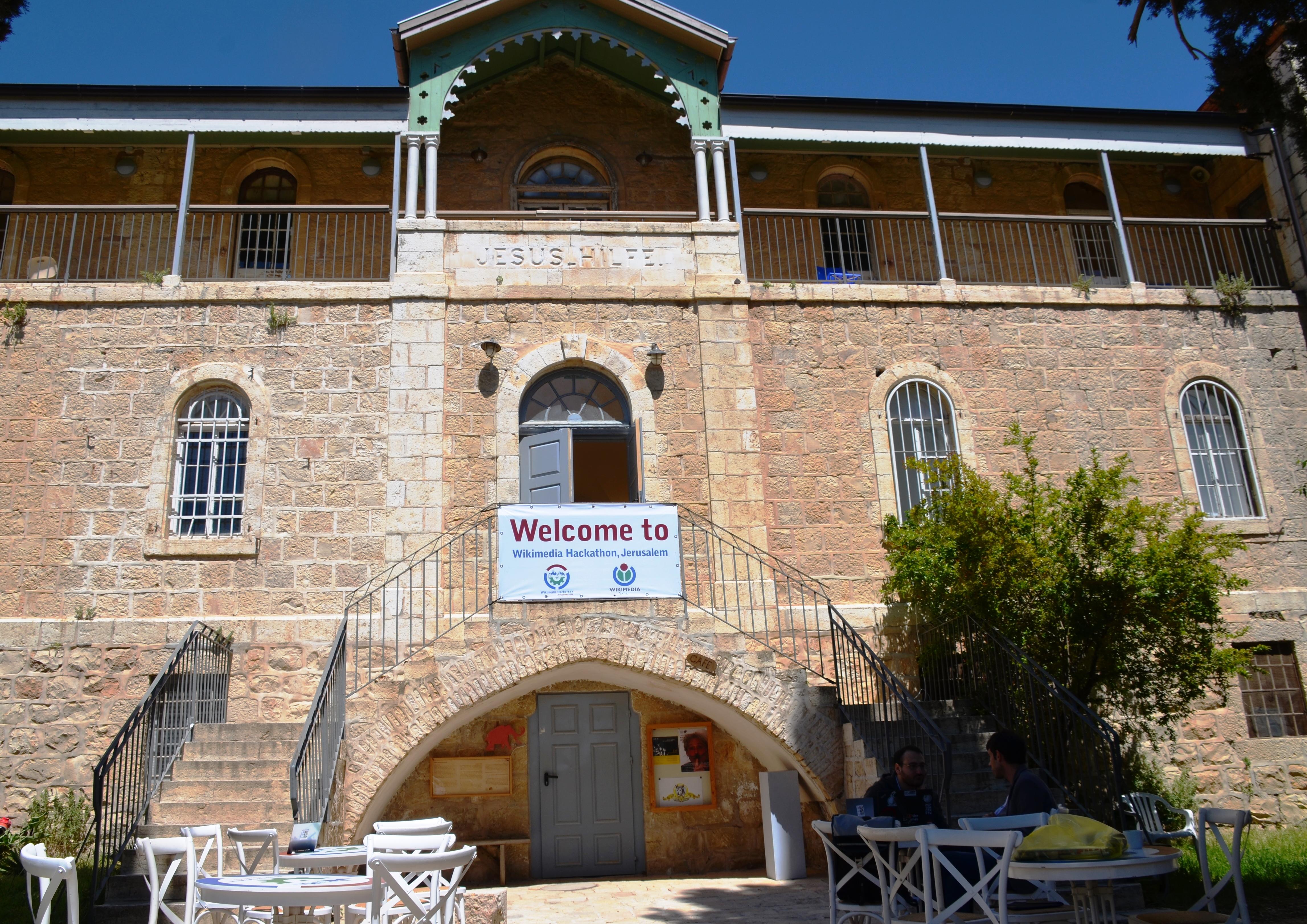 Hansen House Wikimedia Hackathon Jerusalem Israel