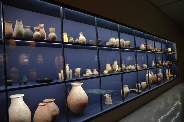 Israel Museum Pharaoh untold story exhibit potter display