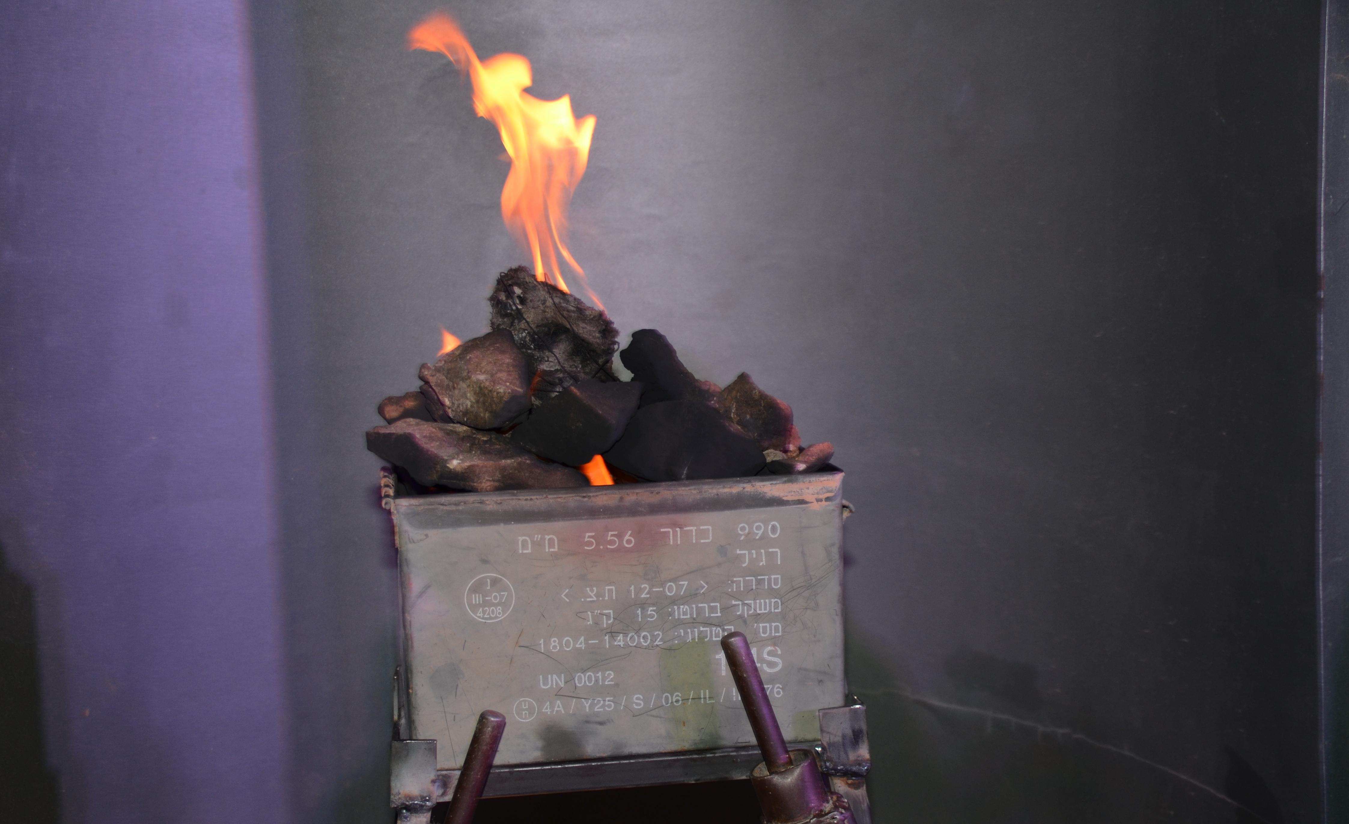 memorial flames