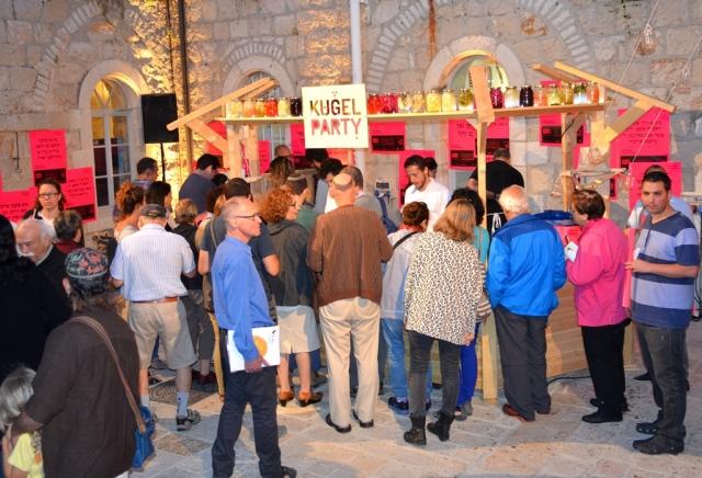 Kugel Party Hansen House Design Week opening event