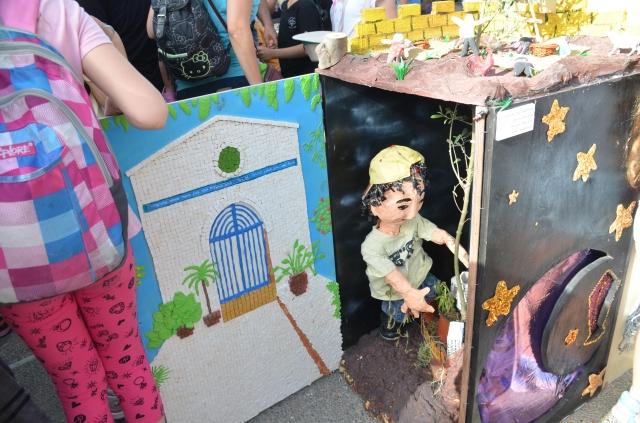 art project Israel Museum Jerusalem children home