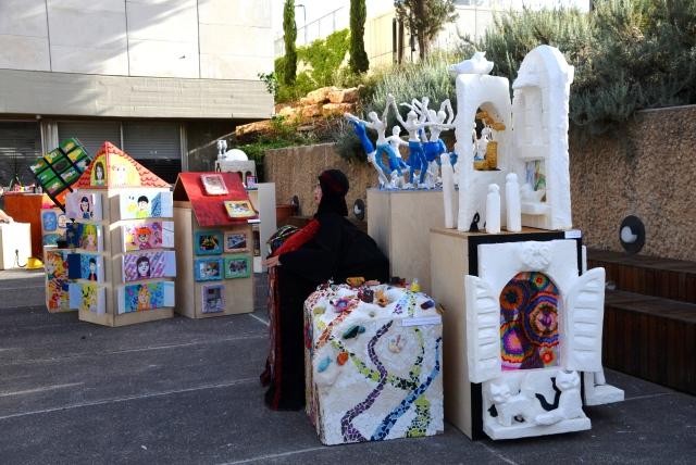 art exhibit in Israel Museum