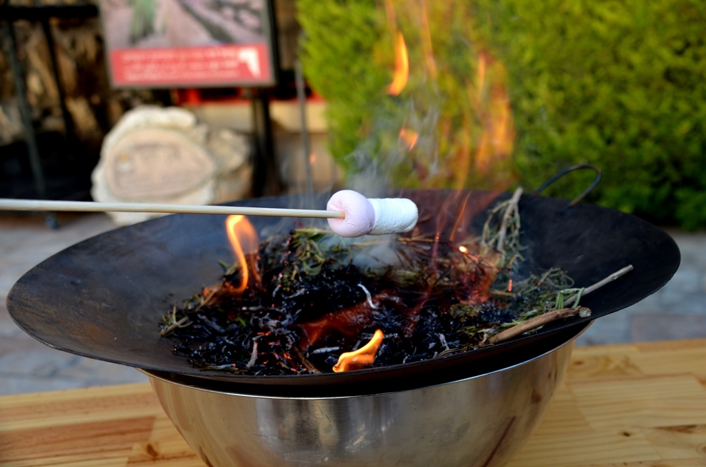 roasting marshmellows unusual Lag B'Omer treat