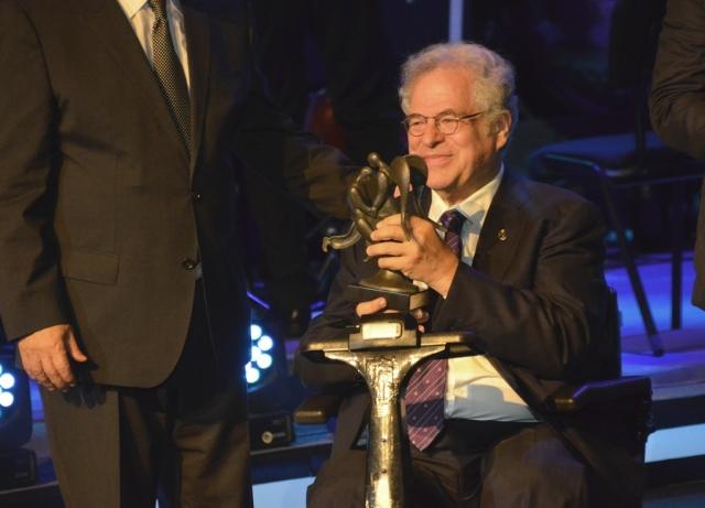 Itzik Perlman at Genesis Prize