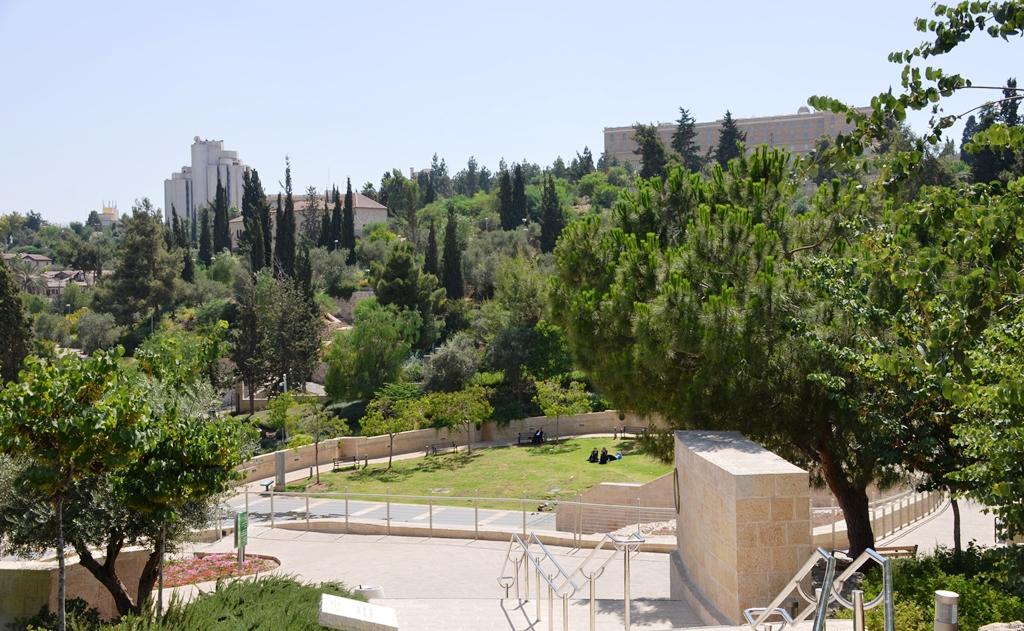 Teddy Park Mitchell Garden Jerusalem Israel