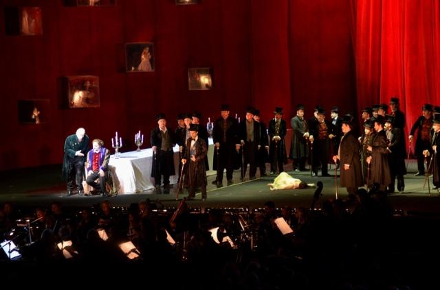 Rigoletto Opera in Jerusalem Sultan Pool