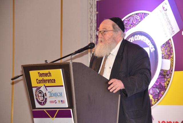 Rabbi Yitzhak Breitowitz speaking at Temech Conference