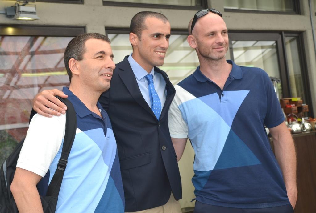 Beit Hanasi sendoff for Israeli Olympic participants