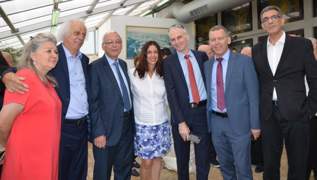 Miri Regev at Bet Hanasi for sendoff of Israel Olympic teams to Rio