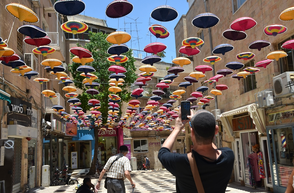 Sombreros on Jerusalem Street