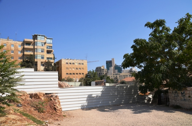 view of construction site Jerusalme