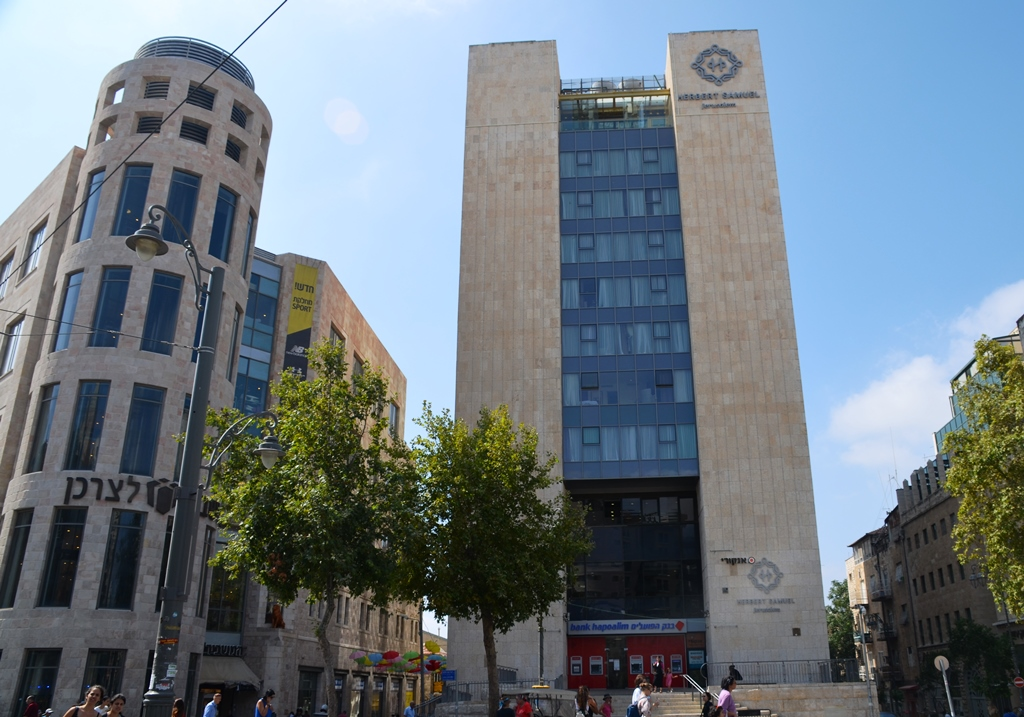 Mashbir and new hotel off Zion Square