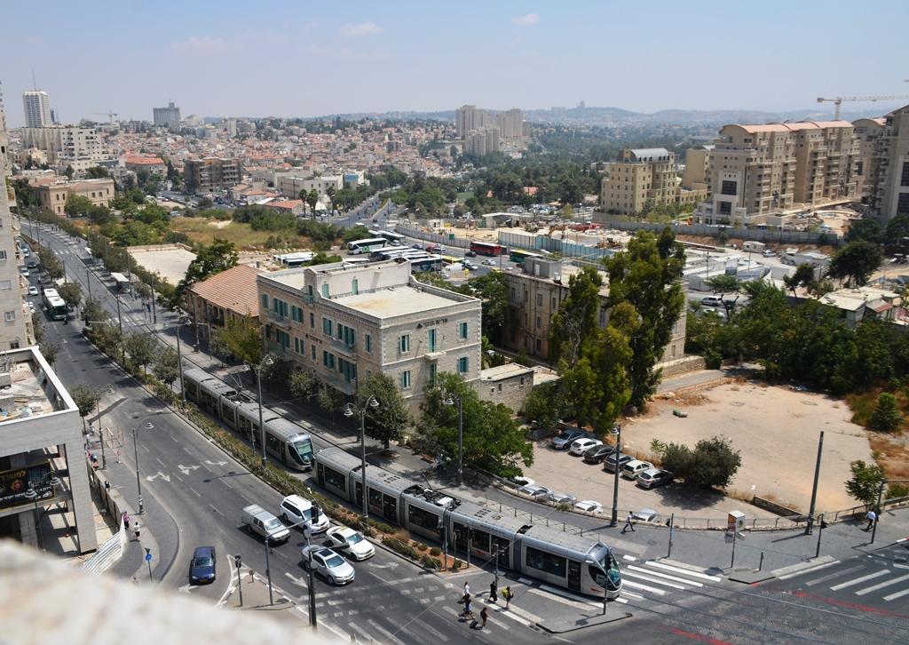 Jerusalem Israel Jaffa Street