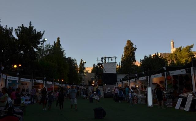 Jerusalem summer night