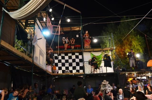 Musical performers at fair