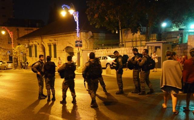 Tisha B'Av security Jerusalem