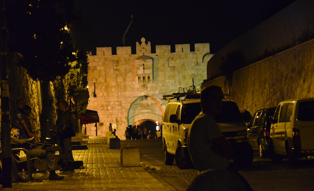 Lion's Gate Old City Jerusalem