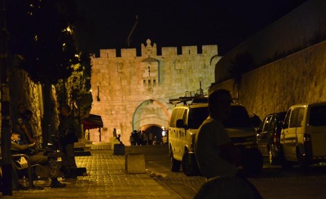 Lion's Gate Old City Jerusalem