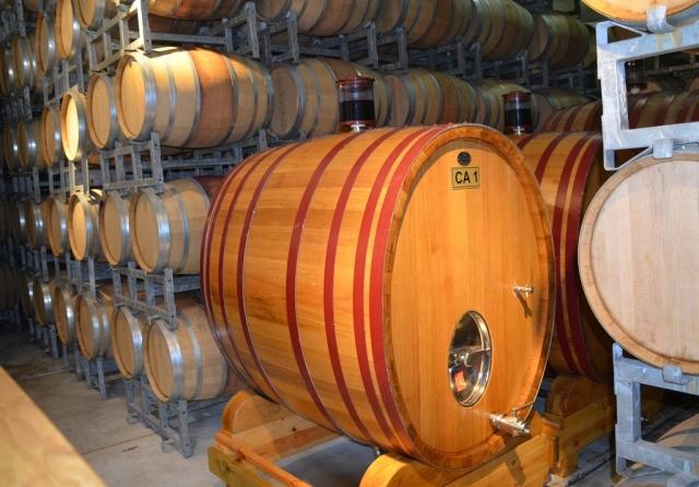 wine barrel in Galilee