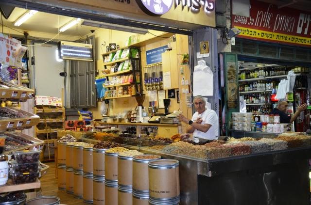 Machane Yehudah market stall