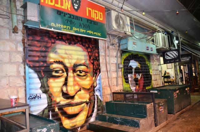Solomon Souza art in shuk